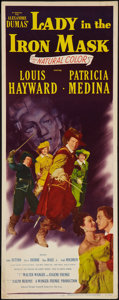 "Movie Posters:Adventure, Lady in the Iron Mask (20th Century Fox, 1952). Insert (14"" X 36"").Adventure.. ..."