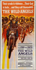 "Movie Posters:Exploitation, The Wild Angels (American International, 1966). Three Sheet (41"" X78""). Exploitation.. ..."