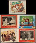 "Movie Posters:Musical, People Are Funny and Others Lot (Paramount, 1945). AutographedLobby Card and Lobby Cards (4) (11"" X 14""). Musical.. ... (Total: 5Items)"