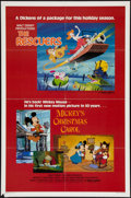 "Movie Posters:Animation, The Rescuers and Others Lot (Buena Vista, R-1983). One Sheets (3) (27"" X 41""). Animation.. ... (Total: 3 Items)"