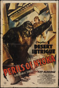 """Movie Posters:Serial, Perils of Nyoka (Republic, 1942). One Sheet (27"""" X 41"""") Chapter 1: """"Desert Intrigue."""" Serial.. ..."""