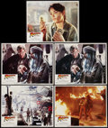 "Movie Posters:Adventure, Raiders of the Lost Ark (Paramount, 1981). Lobby Cards (5) (11"" X14""). Adventure.. ... (Total: 5 Items)"