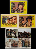 "Movie Posters:Academy Award Winners, Lawrence of Arabia and Others Lot (Columbia, 1962). Color Photos (4) (8"" X 10"") and Lobby Cards (3) (11"" X 14""). Academy Aw... (Total: 7 Items)"