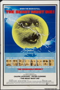 "Movie Posters:Horror, The Beast Must Die (Cinerama Releasing, 1974). One Sheet (27"" X 41""). Horror.. ..."