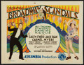 """Movie Posters:Musical, Broadway Scandals (Columbia, 1929). Title Lobby Card (11"""" X 14"""").Musical.. ..."""