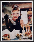 """Movie Posters:Romance, Audrey Hepburn in Breakfast at Tiffany's (Paramount). Autographed Restrike Photo (8"""" X 10""""). Romance.. ..."""