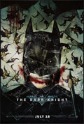 "Movie Posters:Action, The Dark Knight (Warner Brothers, 2008). One Sheet (27"" X 40"") SSAdvance Style H. Action.. ..."