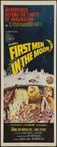 """Movie Posters:Science Fiction, First Men in the Moon (Columbia, 1964). Insert (14"""" X 36""""). ScienceFiction.. ..."""