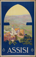 """Movie Posters:Miscellaneous, Assisi by Vittorio Grassi (ENIT, 1930s). Italian Travel Poster (25""""X 40""""). Miscellaneous.. ..."""