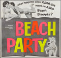 """Movie Posters:Comedy, Beach Party (American International, 1963). Six Sheet (79"""" X 79"""").Comedy.. ..."""