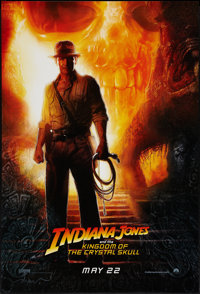 """Indiana Jones and the Kingdom of the Crystal Skull (Paramount, 2008). One Sheet (27"""" X 40"""") DS Advance. Advent..."""