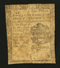 Colonial Notes:Pennsylvania, Pennsylvania April 25, 1776 6d Good-Very Good.. ...