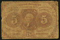 Fractional Currency:First Issue, Fr. 1229 5¢ First Issue Good.. ...