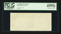 Error Notes:Blank Reverse (100%), Fr. 1908-K $1 1974 Federal Reserve Note. PCGS Extremely Fine 45PPQ.. ...