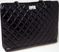 Luxury Accessories:Bags, Heritage Vintage: Chanel Black Quilted Leather Shoulder Bag. ...