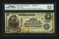 National Bank Notes:Maryland, Hancock, MD - $5 1902 Date Back Fr. 591 The First NB Ch. # (E)7859....