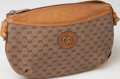 Luxury Accessories:Bags, Heritage Vintage: Gucci Tan Canvas and Leather Shoulder Bag. ...
