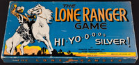 "The Lone Ranger Game (Parker Brothers, 1938). Board Game in Box (10"" X 19""). Western"