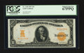 Large Size:Gold Certificates, Fr. 1168 $10 1907 Gold Certificate PCGS Superb Gem New 67PPQ.. ...