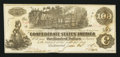 Confederate Notes:1862 Issues, T39 $100 1862 PF-15 Cr. UNL.. ...