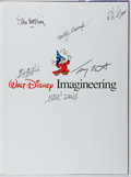 Books:Art & Architecture, [Walt Disney]. CREW SIGNED. Imagineering. Hyperion, 1996. First edition, first printing. Signed by 6 Disney Imagin...