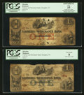 Obsoletes By State:Tennessee, Memphis, TN - The Farmers and Merchants Bank $1 Apr. 4, 1854, Two Examples.. ... (Total: 2 notes)