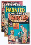 Golden Age (1938-1955):Horror, This Magazine Is Haunted #2 and 7-9 Group (Fawcett Publications,1951-52).... (Total: 4 Comic Books)