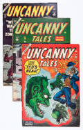 Golden Age (1938-1955):Horror, Uncanny Tales #18 and 20-23 Group (Atlas, 1954) Condition: AverageVG+.... (Total: 5 Comic Books)