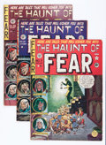Golden Age (1938-1955):Horror, Haunt of Fear #7, 21, and 26 Group (EC, 1952-54).... (Total: 3Comic Books)
