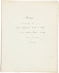 Miscellaneous:Ephemera, [John E. Wool]. Manuscript Biography and Honorary Diploma....