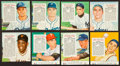 Baseball Cards:Lots, 1954 & 1955 Red Man Tobacco Stars and HoFers Collection (8)....