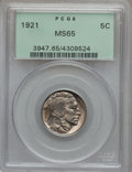 Buffalo Nickels: , 1921 5C MS65 PCGS. PCGS Population (248/170). NGC Census: (128/67).Mintage: 10,663,000. Numismedia Wsl. Price for problem ...