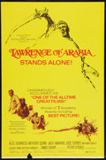 "Movie Posters:Academy Award Winners, Lawrence of Arabia (Columbia, R-1971). One Sheet (27"" X 41"") andOriginal 1962 Program (Multiple Pages, 9.5"" X 12.5""). Acad...(Total: 2 Items)"