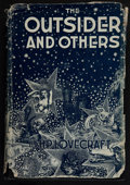 Books:Horror & Supernatural, H. P. Lovecraft. The Outsider and Others. Collected byAugust Derleth and Donald Wandrei. Sauk City: Arkham House, 1...(Total: 2 Items)