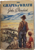 Books:Literature 1900-up, John Steinbeck. The Grapes of Wrath. New York: TheViking Press, [1939]. First edition. Octavo. 619 pages. ...