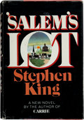 Books:Horror & Supernatural, Stephen King. 'Salem's Lot. Garden City: Doubleday, 1975.First edition. Signed by King on the title-page. ...