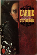 "Books:Horror & Supernatural, Stephen King. Carrie. New York: Doubleday & Company, Inc., 1974. First edition, first impression, with code ""P6"" in ..."
