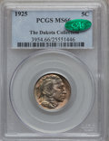 Buffalo Nickels: , 1925 5C MS66 PCGS. CAC. PCGS Population (207/7). NGC Census:(127/4). Mintage: 35,565,100. Numismedia Wsl. Price for proble...