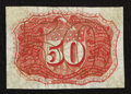 Fractional Currency:Second Issue, Fr. 1314SP 50¢ Narrow Margin Back Second Issue Choice New.. ...