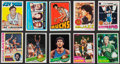 Basketball Cards:Lots, 1970's-80's Topps & Fleer Basketball Superstars and HoFers CardCollection (27). ...