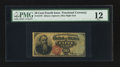Fractional Currency:Fourth Issue, Fr. 1376 50¢ Fourth Issue Stanton PMG Fine 12.. ...