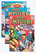 Silver Age (1956-1969):Horror, House of Mystery Group (DC, 1966-67) Condition: Average VG+....(Total: 18 Comic Books)