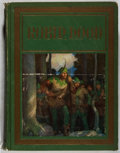 Books:Literature 1900-up, N. C. Wyeth, illustrator. SIGNED Robin Hood. David McKay, 1917. Illustrated edition. Signed by Wyeth on the half...