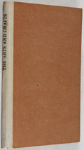 Books:Art & Architecture, T. J. Cobden-Sanderson. The Arts and Crafts Movement. Hammersmith Publishing Society, 1905. First edition. Conte...