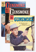 Silver Age (1956-1969):Western, Gunsmoke File Copies Group (Dell/Gold Key, 1959-69) Condition:Average VF/NM.... (Total: 8 Comic Books)