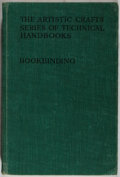 Books:Books about Books, Douglass Cockerell. Bookbinding, and the Care of Books. Sir Isaac Pitman & Sons, 1962. Fifth edition, revised an...