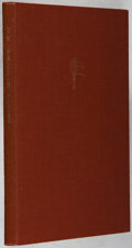 Books:Books about Books, Herbert and Peter Fahey. Finishing in Hand Bookbinding. Published by the authors, 1951. First edition. Illustrat...