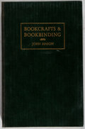 Books:Books about Books, John Mason. A Practical Course in Bookcrafts and Bookbinding. Edgar Backus, [1947]. First edition. Illustrated. ...