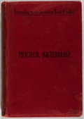 Books:Medicine, Dr. W. Migula. An Introduction to Practical Bacteriology.London: Swan, 1893. First English edition. Publisher's bin...