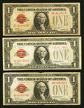Small Size:Legal Tender Notes, Fr. 1500 $1 1928 Legal Tender Notes. Three Examples. Very Good or Better.. ... (Total: 3 notes)